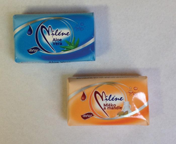 Mýdlo toaletní Miléne 100 g, mix