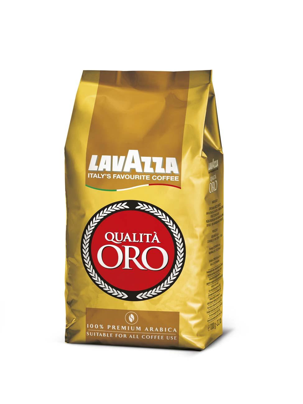Káva Lavazza Qualita - Oro / zrno / 1 kg