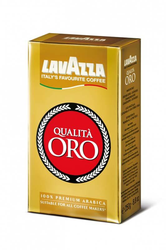 Káva Lavazza Qualita - Oro / mletá / 250 g
