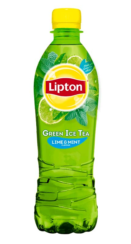 Nápoje Lipton - Ice Tea Green Lime&Mint/ 0,5 l