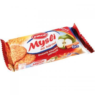 Emco musli sušenky - jablko + skořice / 60 g