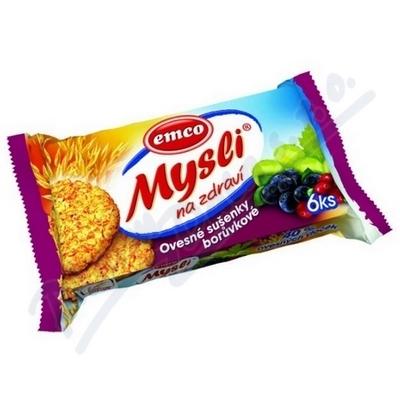 Emco musli sušenky - brusinka + borůvka / 60 g