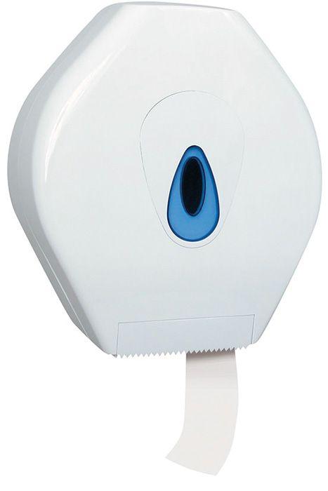 Zásobník na toaletní papír Merida TOP - bílá / modrá / Mini