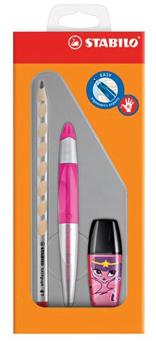 STABILO School set - růžová / pro praváky