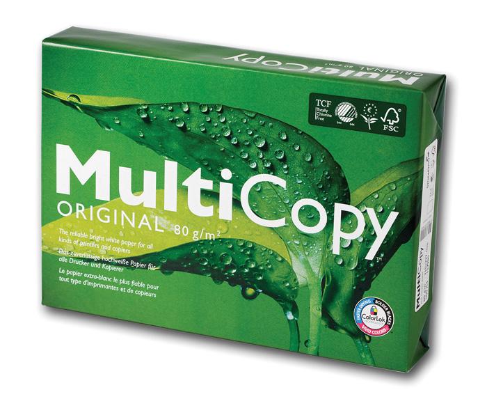 Xerografický papír MultiCopy Original - A4 160 g / 250 listů