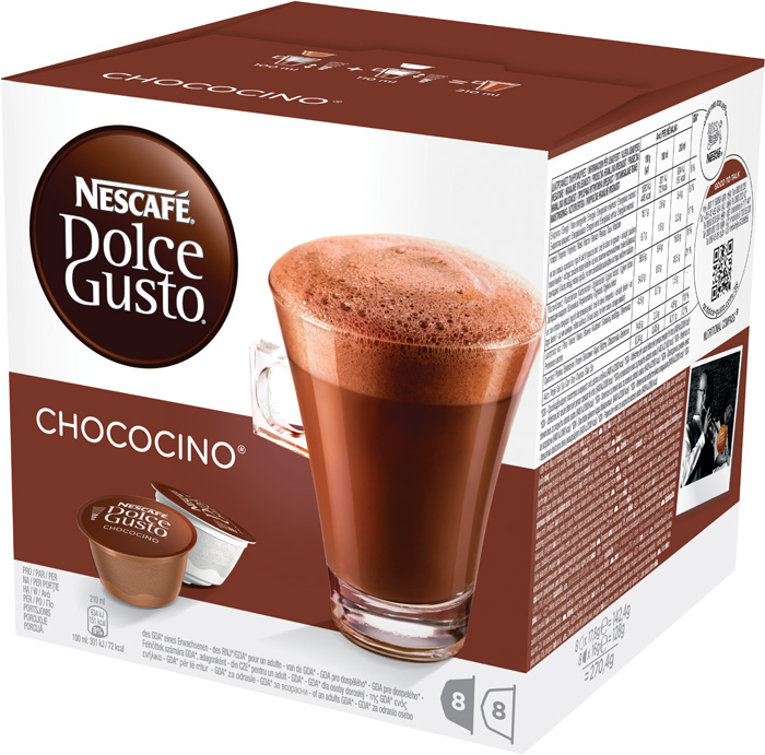 Nescafé Dolce Gusto kapsle - Chococino / 8+8 ks