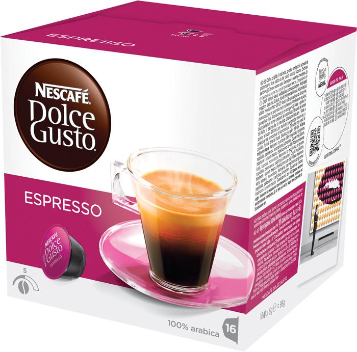 Nescafé Dolce Gusto kapsle - Espresso / 16 ks