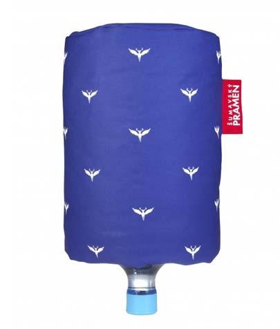 Návlek na barel - modrá s potiskem