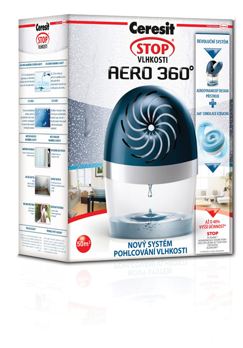 Ceresit STOP VLHKOSTI AERO 360° - přístroj