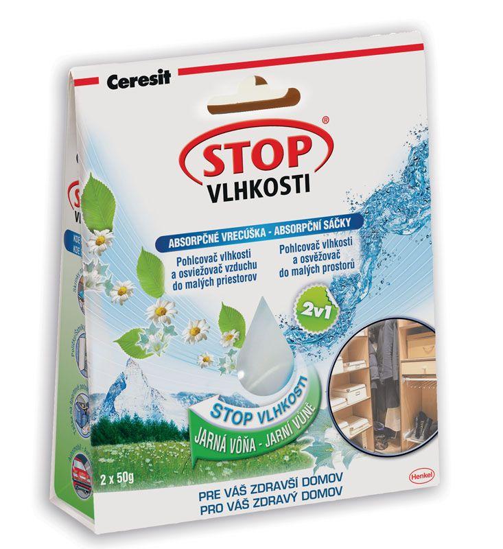 Ceresit STOP VLHKOSTI - absorpční sáčky / jarní vůně