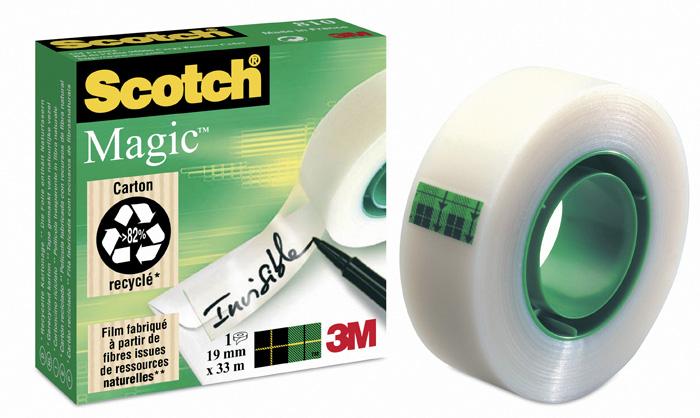 Lepicí pásky Scotch Magic - 19 mm x 10 m
