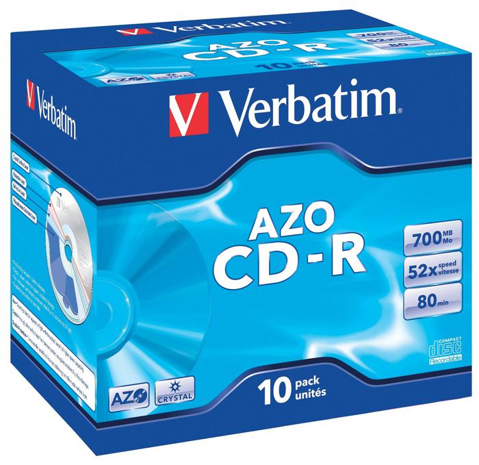 CD - R Verbatim - CD v krabičce standard