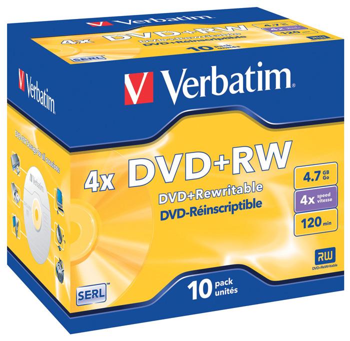 DVD / RW Verbatim - DVD + RW