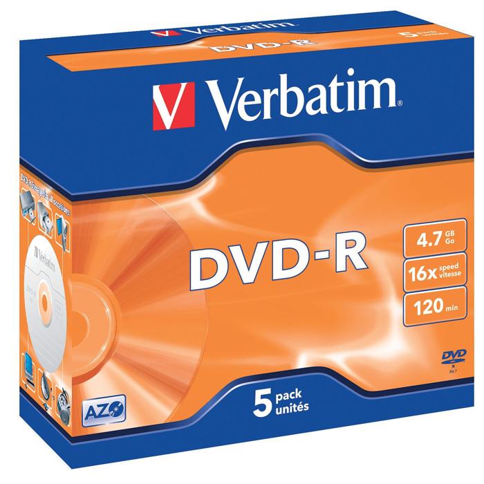 DVD / R Verbatim - DVD - R