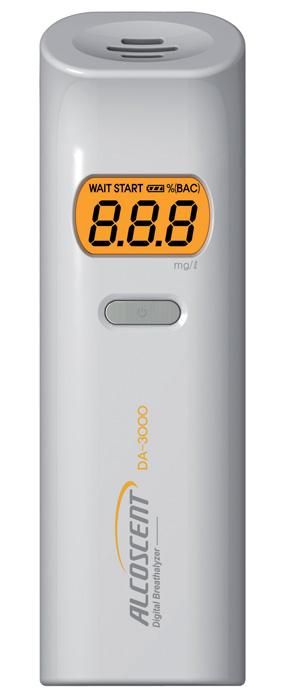 Alkohol tester DA 3000 - bílá