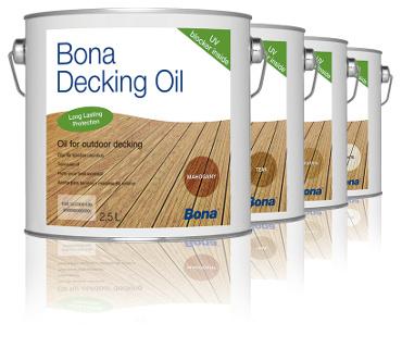 Bona Decking Oil přírodní