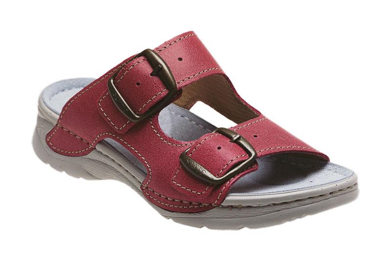 Zdravotní pantofle růžová 38