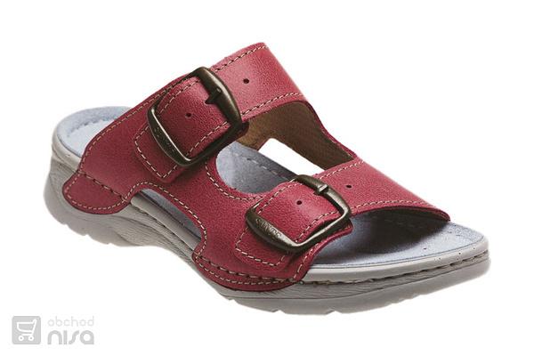 Zdravotní pantofle růžová od 724 f59eefffc1
