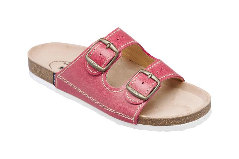 Zdravotní pantofle růžový 36
