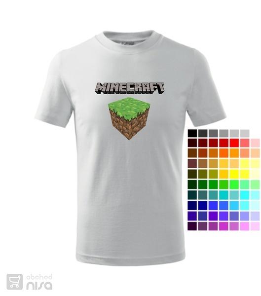 dětské tričko Minecraft 3 od 351 541d875cb5