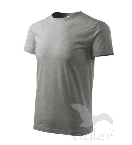 Tričko s vlastním POTISKEM XS tmavě šedý melír