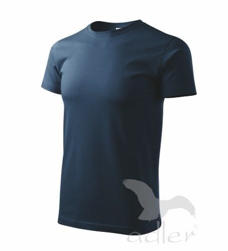Tričko s vlastním POTISKEM S námořní modrá