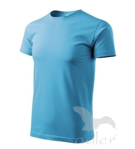 Tričko s vlastním POTISKEM S tyrkysová