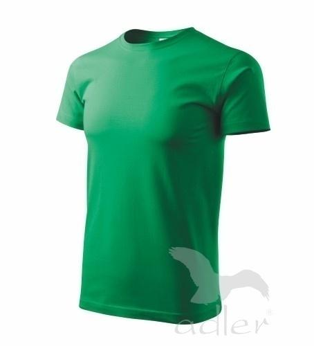 Tričko s vlastním POTISKEM M středně zelená