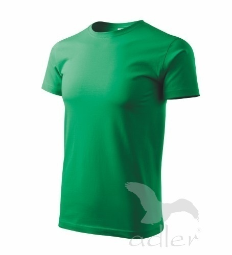 Tričko s vlastním POTISKEM L středně zelená