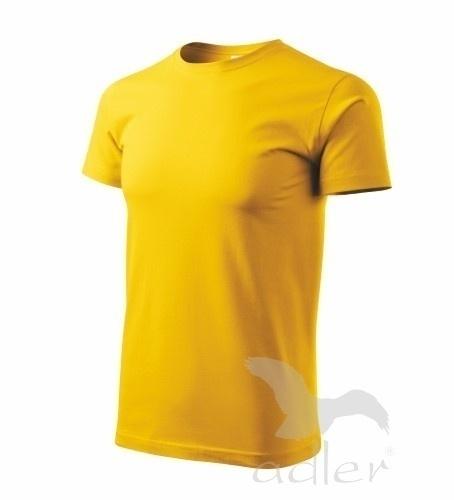 Tričko s vlastním POTISKEM XXL žlutá