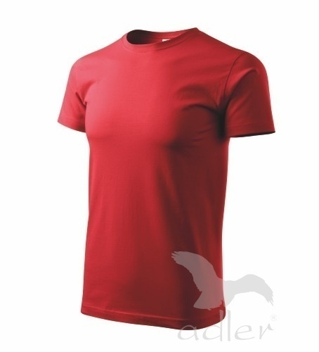 Tričko s vlastním POTISKEM S červená