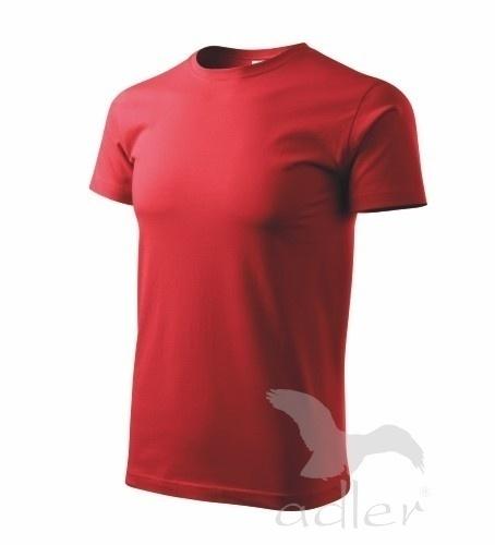 Tričko s vlastním POTISKEM XXL červená