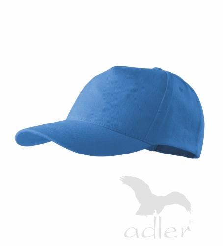 Kšiltovka s vlastním POTISKEM azurově modrá