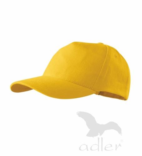 Kšiltovka s vlastním POTISKEM žlutá