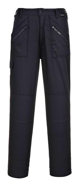 Dámské kalhoty Action Prodloužené XL černá