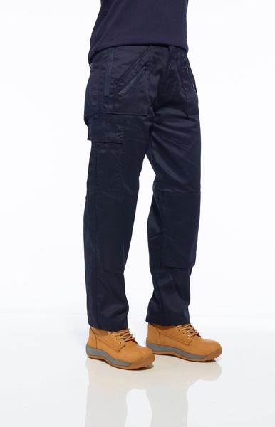 Dámské kalhoty Action Prodloužené M námořní modrá