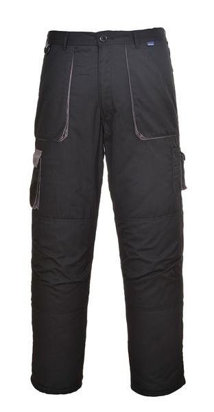 Portwest Texo dvoubarevné prodloužené kalhoty M černá