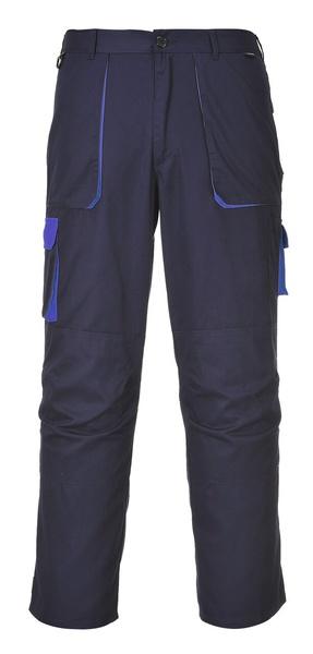 Portwest Texo dvoubarevné prodloužené kalhoty M námořní modrá