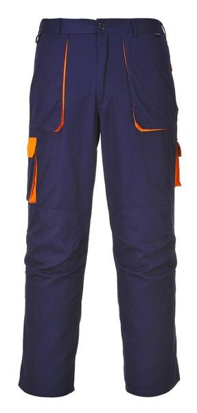 Portwest Texo dvoubarevné prodloužené kalhoty M oranžová