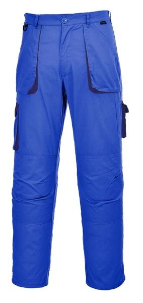 Portwest Texo dvoubarevné prodloužené kalhoty M královská modrá