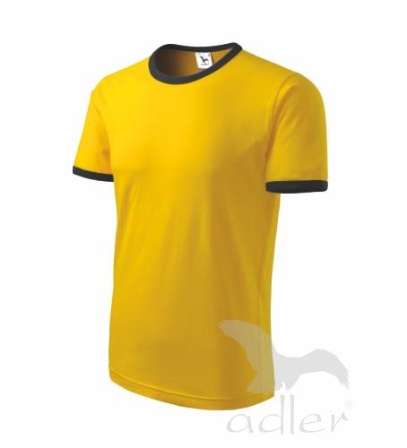 Dětské tričko INFINITY 122/6 let žlutá