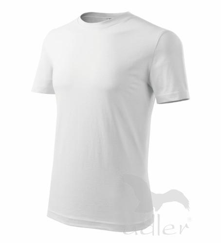 Tričko pánské barevné M bílá