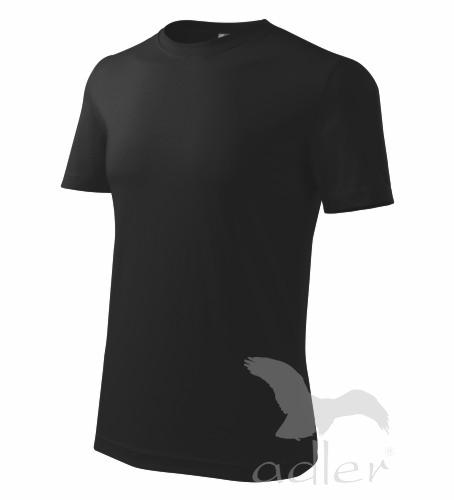 Tričko pánské barevné M černá