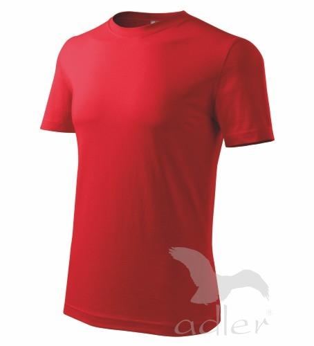 Tričko pánské barevné CLASSIC NEW XL červená