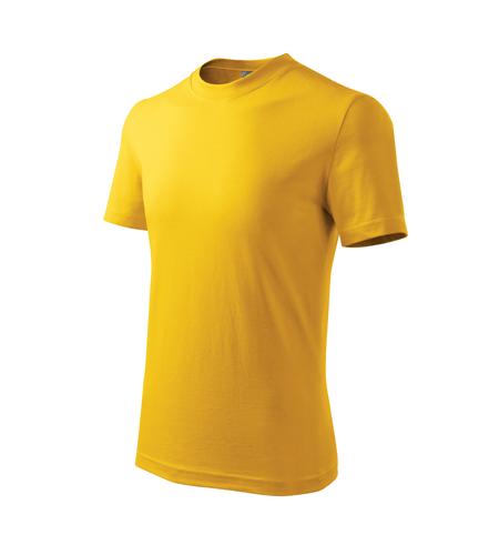 Tričko barevné dětské CLASSIC 122/6 let žlutá