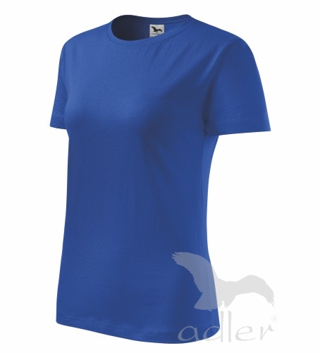 Tričko dámské barevné CLASSIC NEW M královská modrá