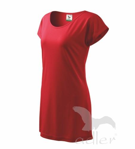 Šaty dámské LOVE M červená