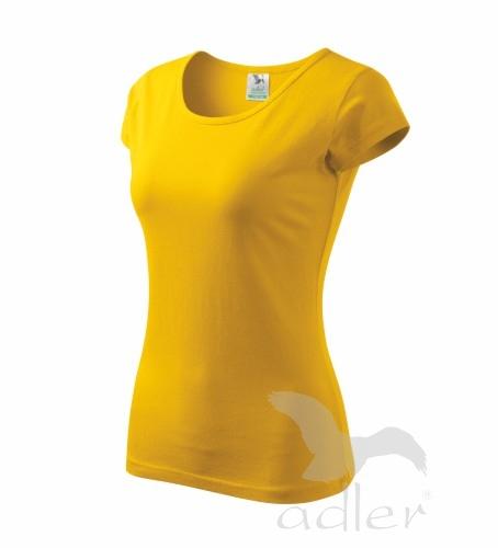Tričko dámské Pure S žlutá