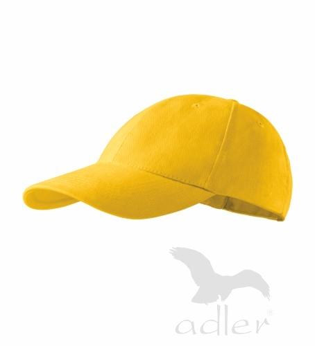 dětská kšiltovka 6P KIDS žlutá