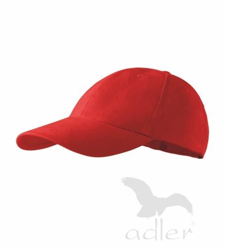 dětská kšiltovka 6P KIDS červená